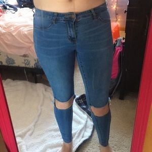 Ripped Pacsun Skinny Jeans